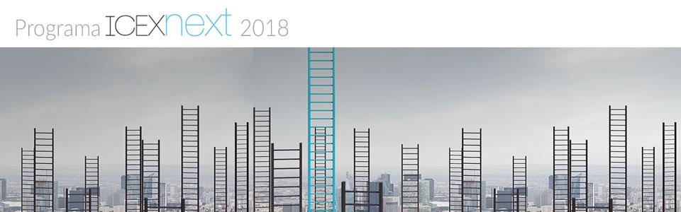 ICEX Next convocatoria 2018