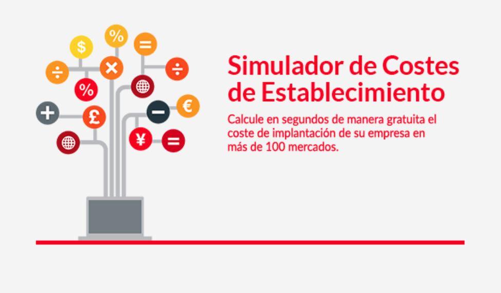 Simulador de costes de establecimiento ICEX