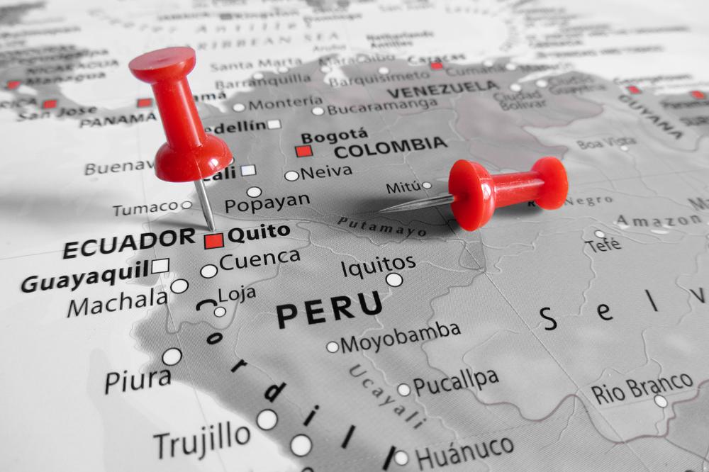 De Ecuador a Colombia